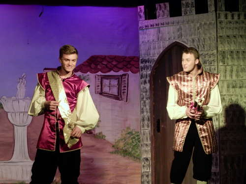 Alex and Dan - Prince Charming and Dandini